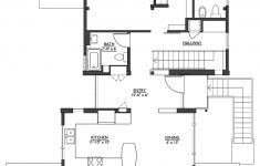 Plans For A House Elegant Modern Style House Plan 2 Beds 2 5 Baths 1953 Sq Ft Plan 890 6