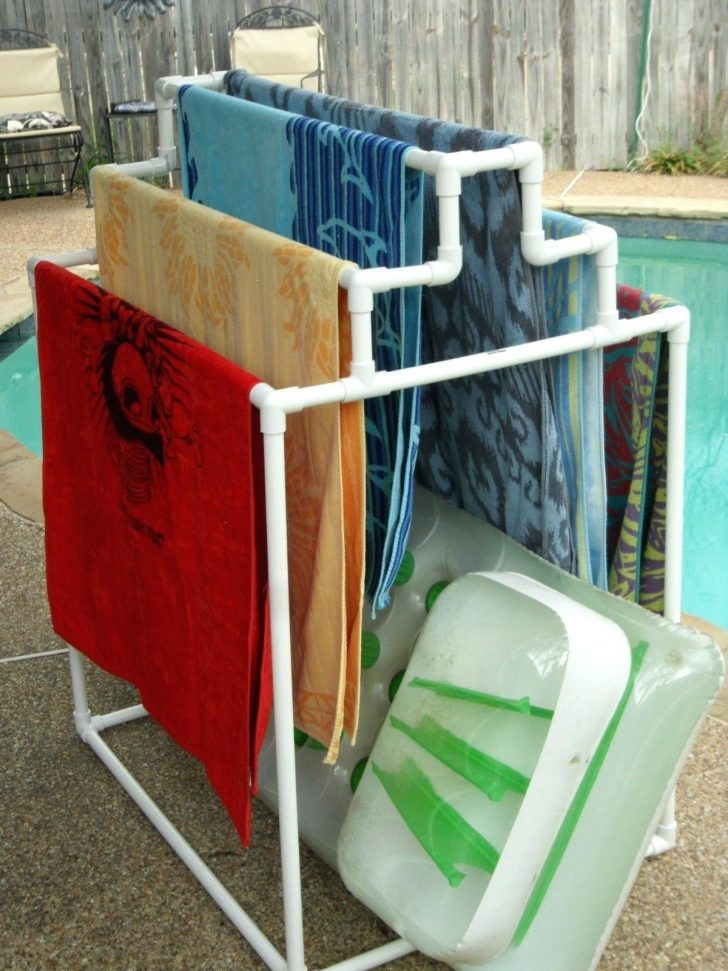 Pool Float Holder Diy 2021