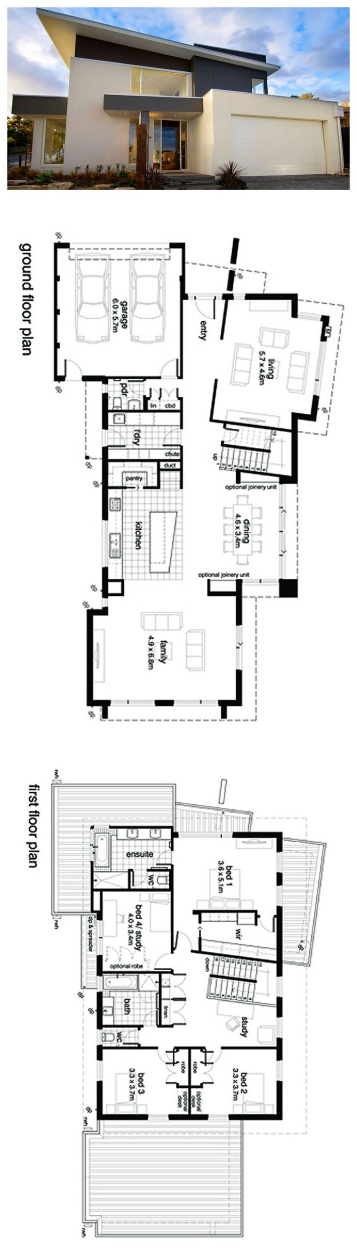 Post Modern Architecture House Plans 9