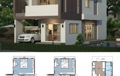 Post Modern House Plans Luxury Home Design Plan 6x13m With 5 Bedrooms