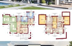 Post Modern House Plans New Modern Architecture House Plan & Interior Design Concept M