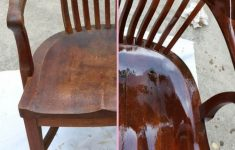 Refinishing Antique Furniture Without Stripping Beautiful How To Refinish Wood Chairs The Easy Way
