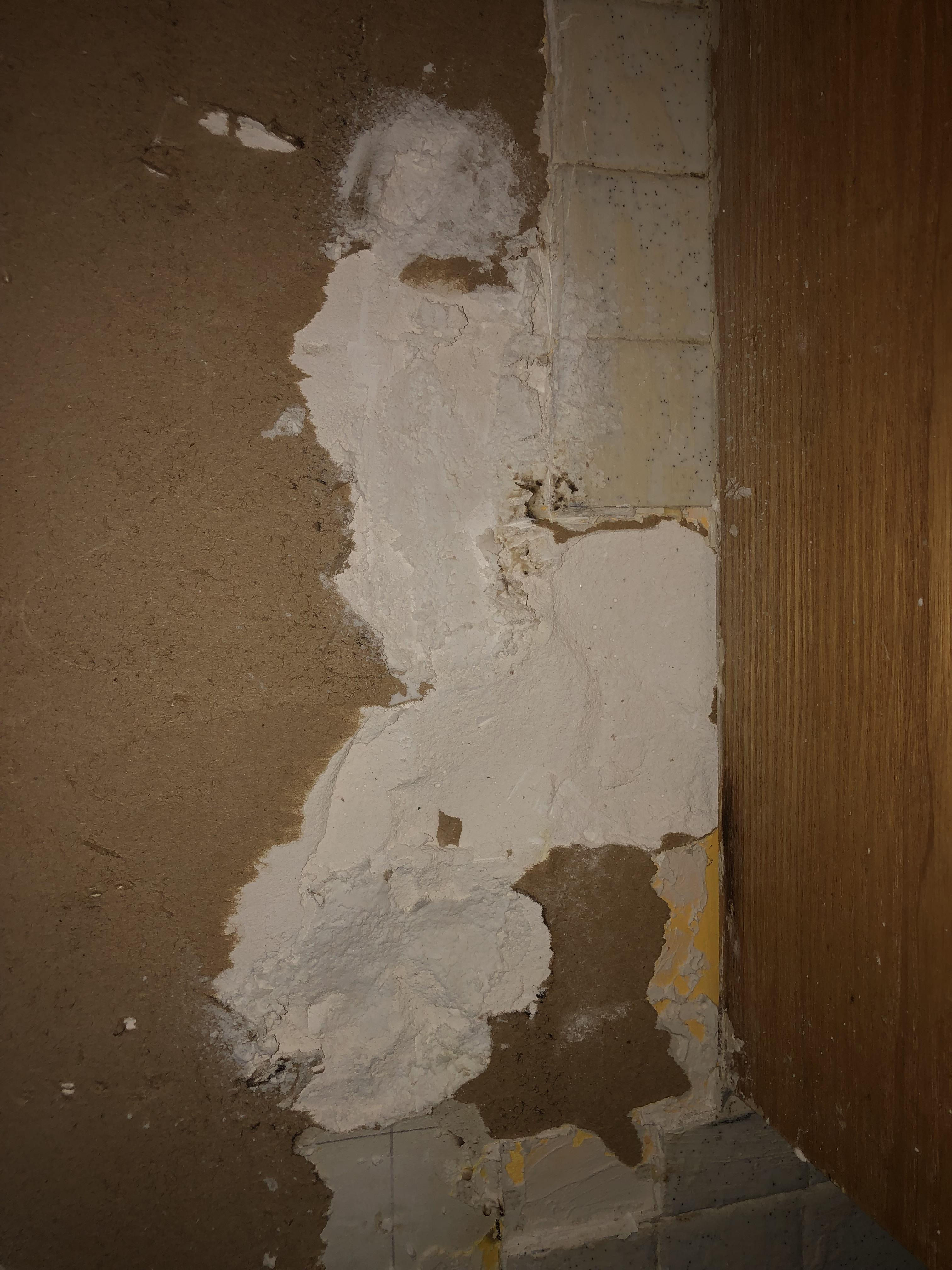 damage to drywall when removing stickon tiles how