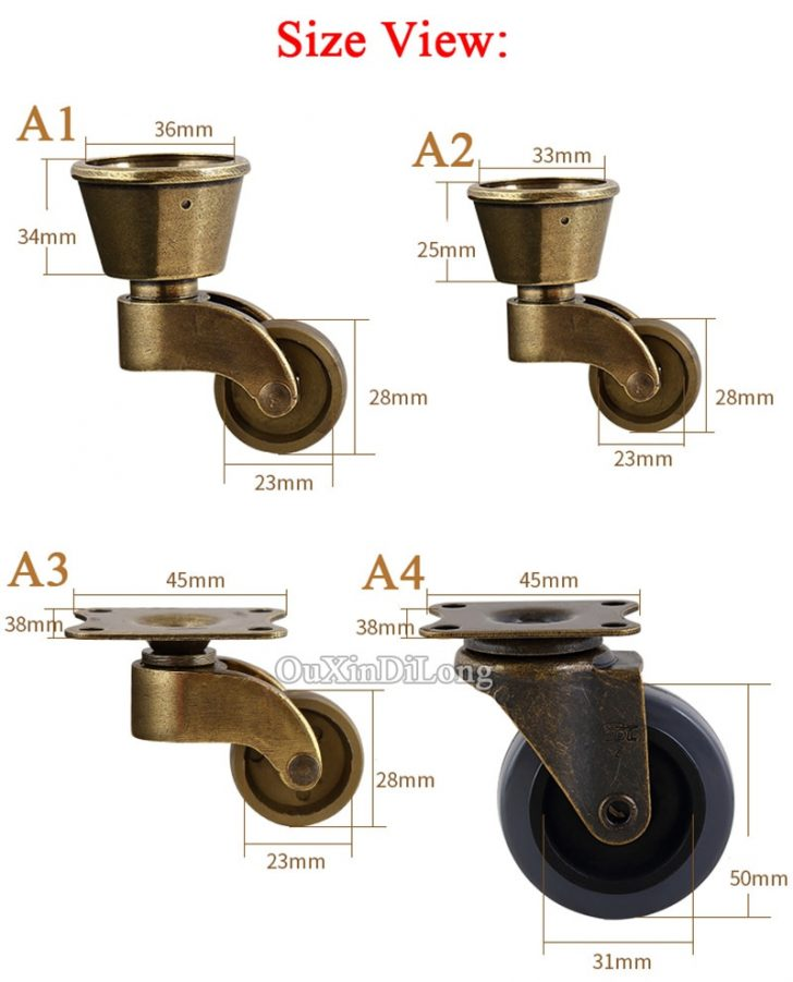 Replacement Casters for Antique Furniture 2021
