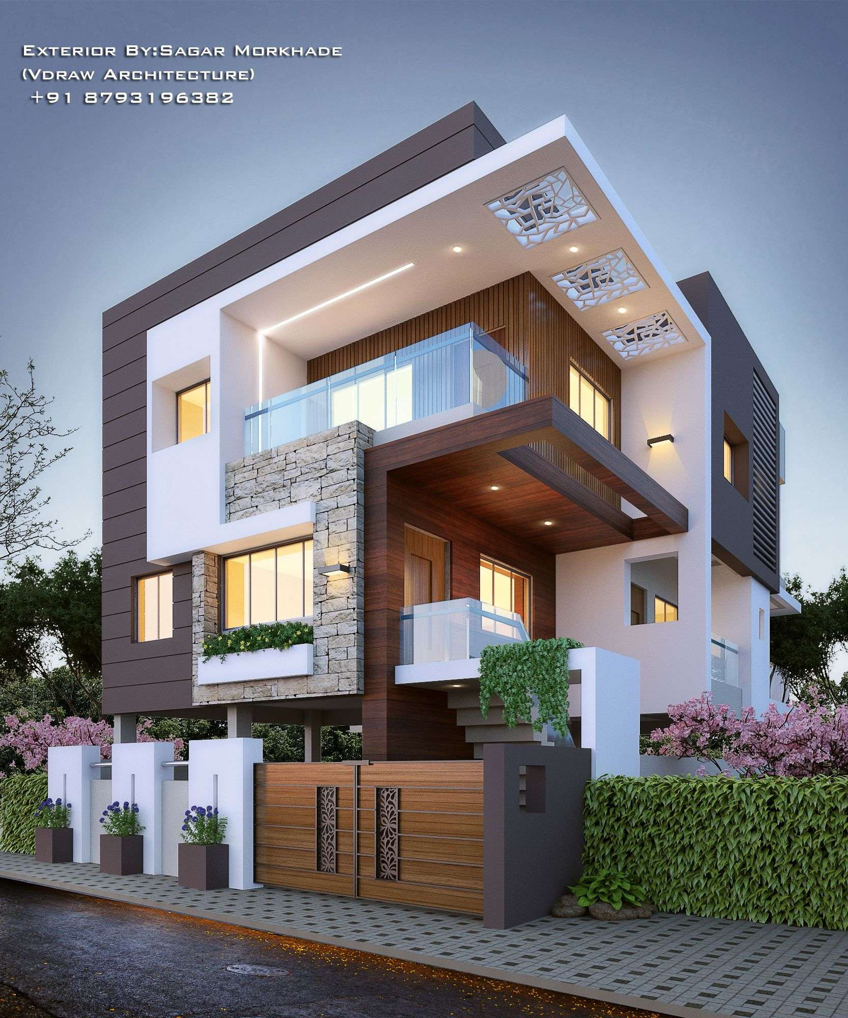 Residential Gate Designs Modern Unique Scenic Modern Residential Design Exciting Inverse Group
