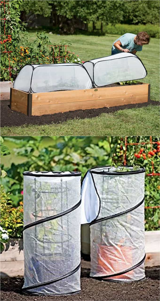DIY greenhouse plans hoop house cold frame tutorials apieceofrainbow 16