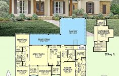Small Acadian House Plans New Plan Hz 3 Bed Acadian Home Plan With Bonus Over