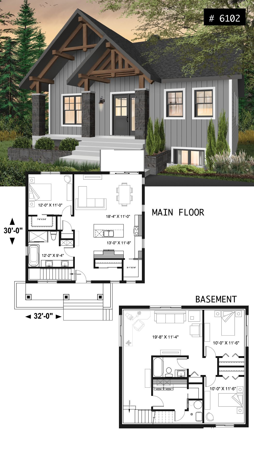 Small Affordable Houses to Build Luxury House Plan nordika No 6102