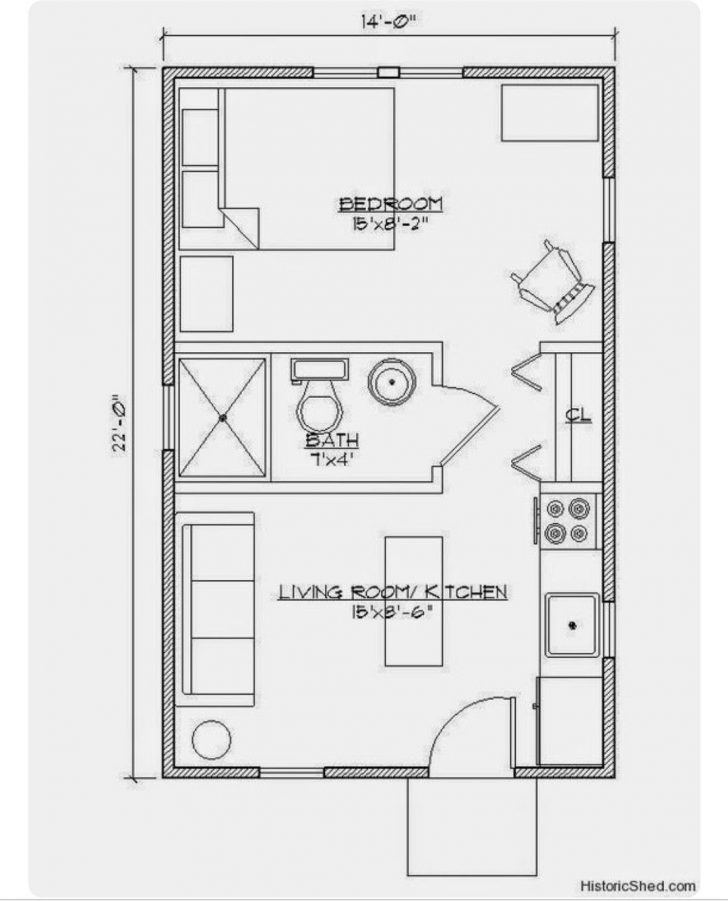 Small Backyard Guest House Plans 2021