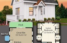 Small House Plans 1000 Sq Ft Inspirational Plan Ms Simple Modern Farmhouse Plan Under 1 000