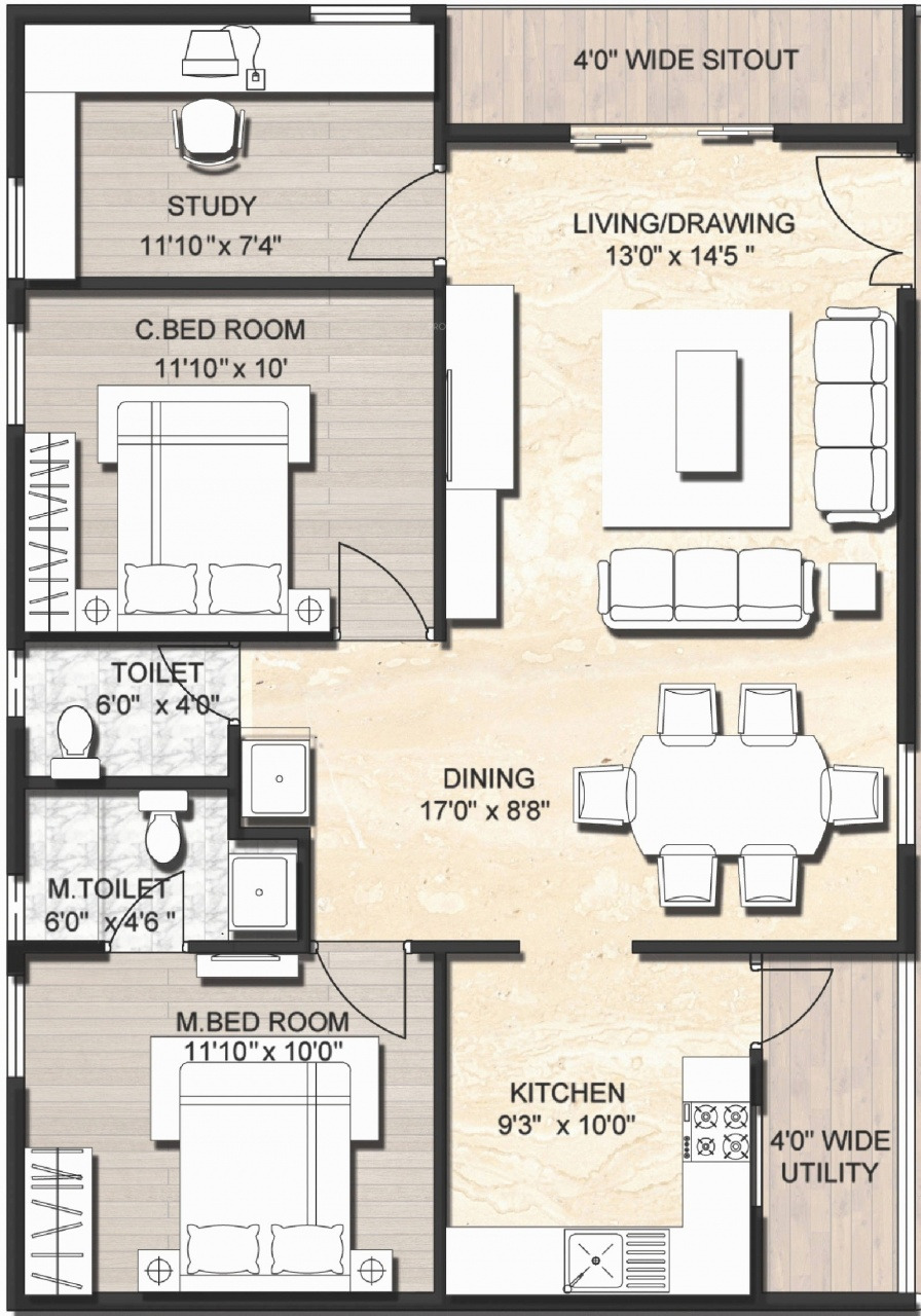 2 bedroom house plans under 1500 sq ft 19 beautiful 1500 sq ft floor plans