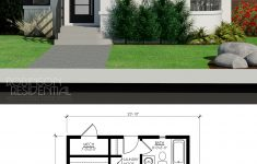 Small Modern Home Floor Plans Luxury Contemporary Nyhus 491