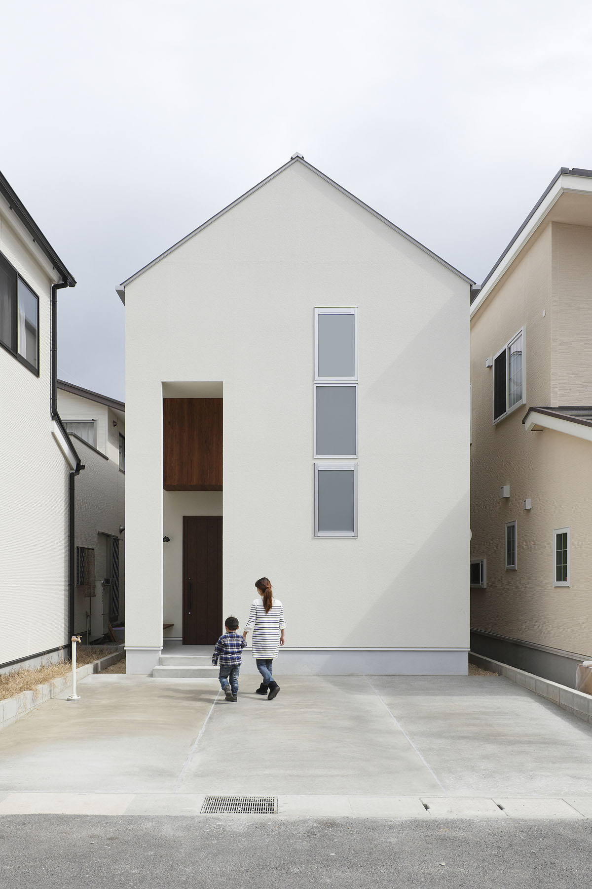 small modern house in kyoto with wood interiors idesignarch in small narrow minimalist house exteriors images minimalist homes