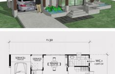 Small One Bedroom House Plans Elegant Home Design Plan 11x8m With E Bedroom