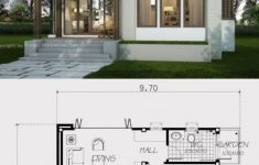 Small One Bedroom House Plans Lovely Small Home Design Plan 9x6 6m With One Bedroom