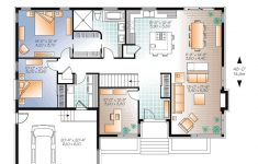 Small One Level House Plans Elegant Modern Style House Plan With 3 Bed 1 Bath 2 Car