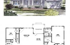 Small Rambler House Plans Luxury Traditional Style House Plan With 3 Bed 2 Bath 2