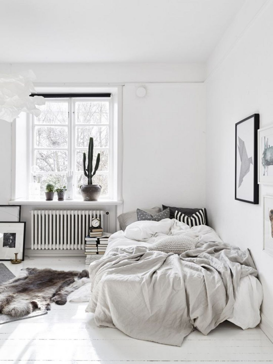 white small bedroom design