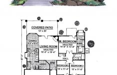 Southwest House Floor Plans Awesome Southwest Style House Plan With 3 Bed 2 Bath 2 Car