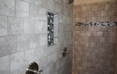 Stone Walk In Shower Best Of Two Person Walk In Shower With Stone Brick Tile Mosaic