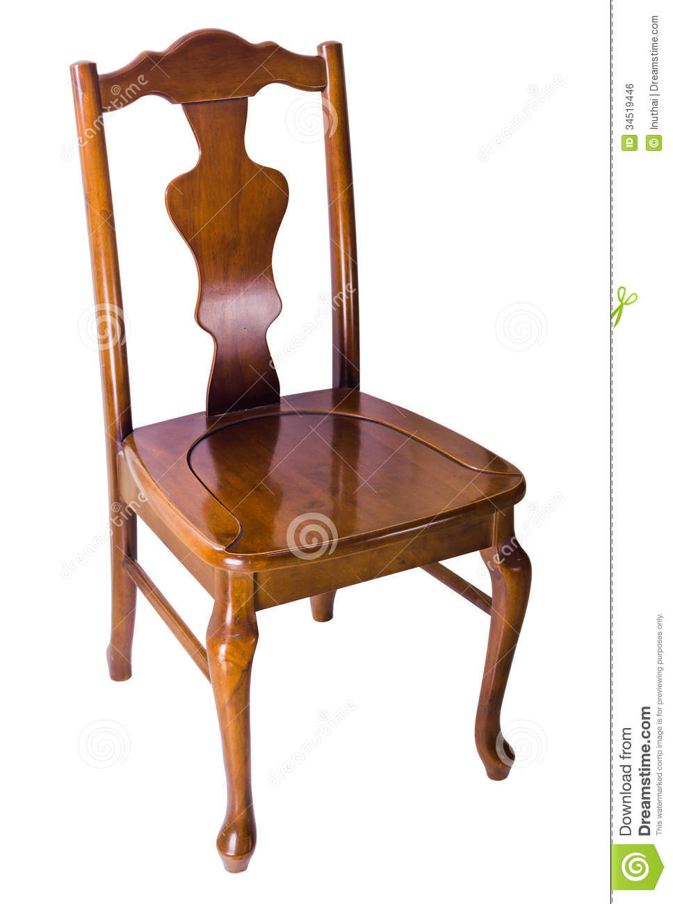 Styles Of Antique Furniture Unique Old Wooden Chair Vintage Style Stock Image Of Empty