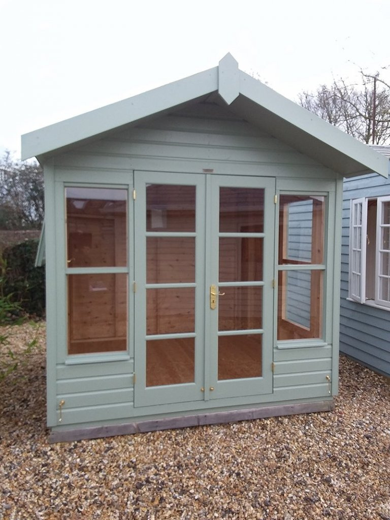 6 x 86 wiveton summerhouse with octagonal roof 264