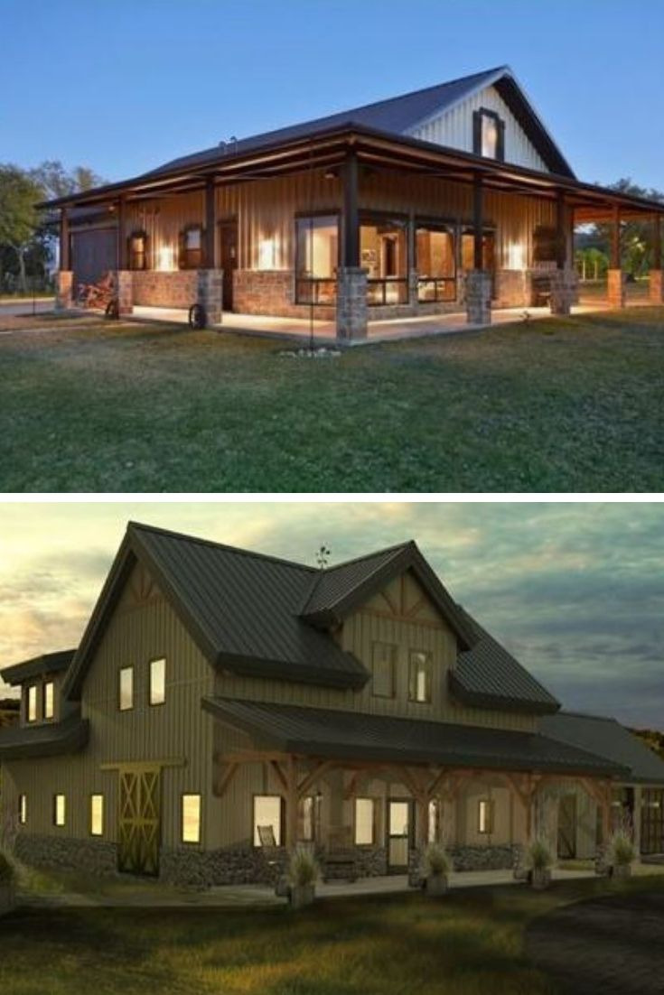 The Most Beautiful House Ever Beautiful All About Metal Building Homes