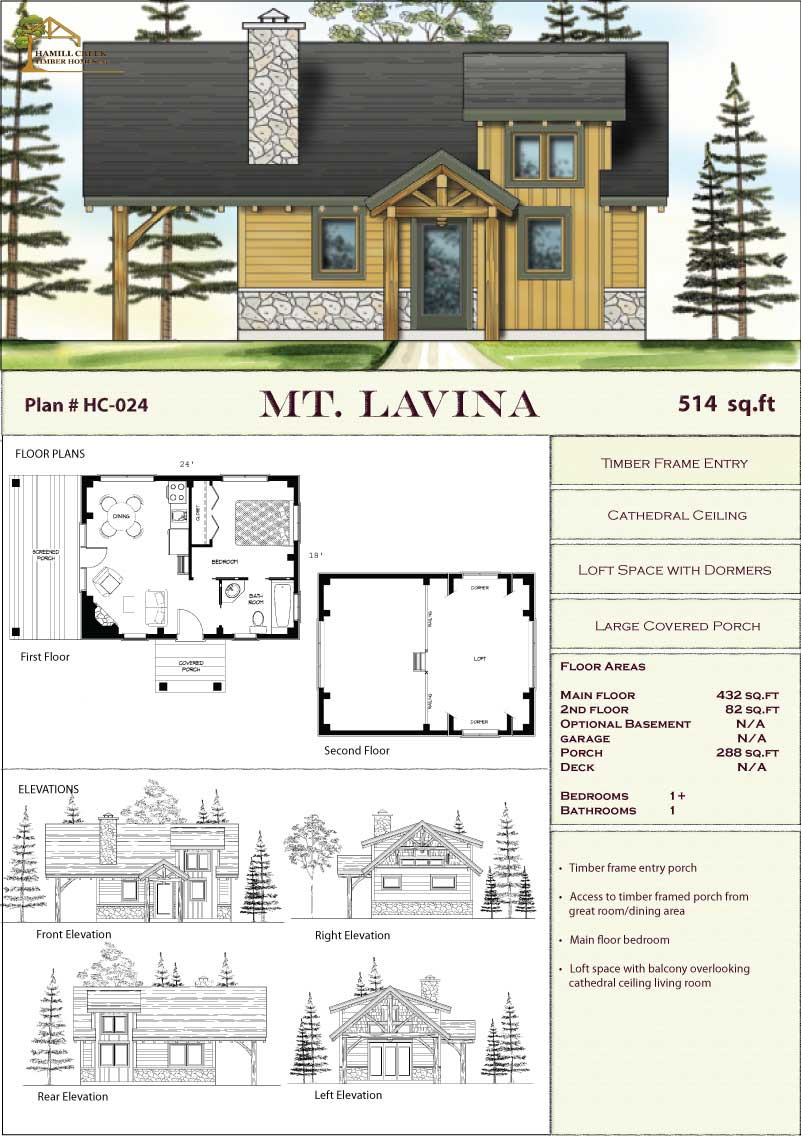 Timber Frame House Floor Plans Best Of Timber Frame Home Plans & Designs by Hamill Creek Timber Homes