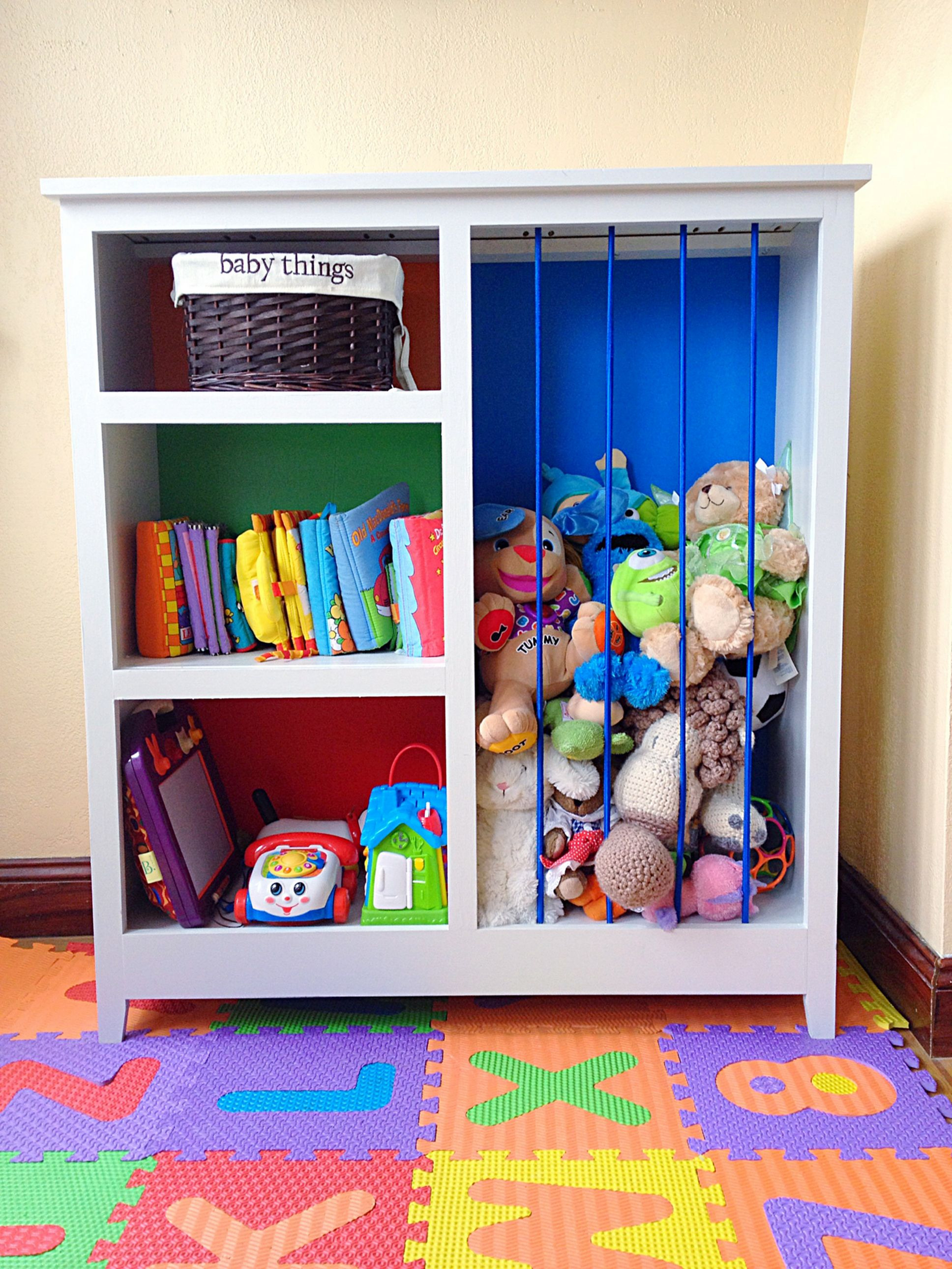 Simple And Elegant Toy Storage Ideas 988