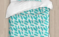 Turquoise Duvet Cover Twin Xl Awesome Amazon Ambesonne Turquoise Duvet Cover Set Quills