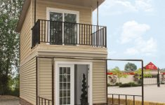 Two Story House With Balcony Fresh The Eagle 1 A 350 Sq Ft 2 Story Steel Framed Micro Home