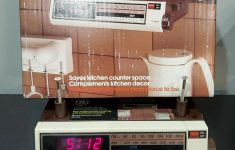 Under Cabinet Kitchen Cd Clock Radio Reviews Awesome Ge Spacemaker Kitchen Clock Am Fm Radio Under Cabinet 7 4212 Tested
