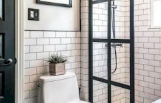 Walk In Shower Design Ideas Fresh 50 Stunning Farmhouse Walk In Shower Tiles Remodel Ideas