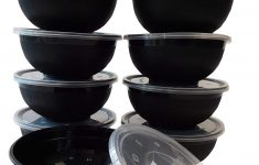 Walmart Glass Bowls With Lids Best Of Table To Go 300 Pack Storage Noodle Bowls With Lids 1 Partment 35 Oz Black Walmart