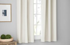 Walmart Mainstay Vinyl Mini Blinds Best Of Mainstays Blackout In Ivory Flannel Panel Pair Set Of 2
