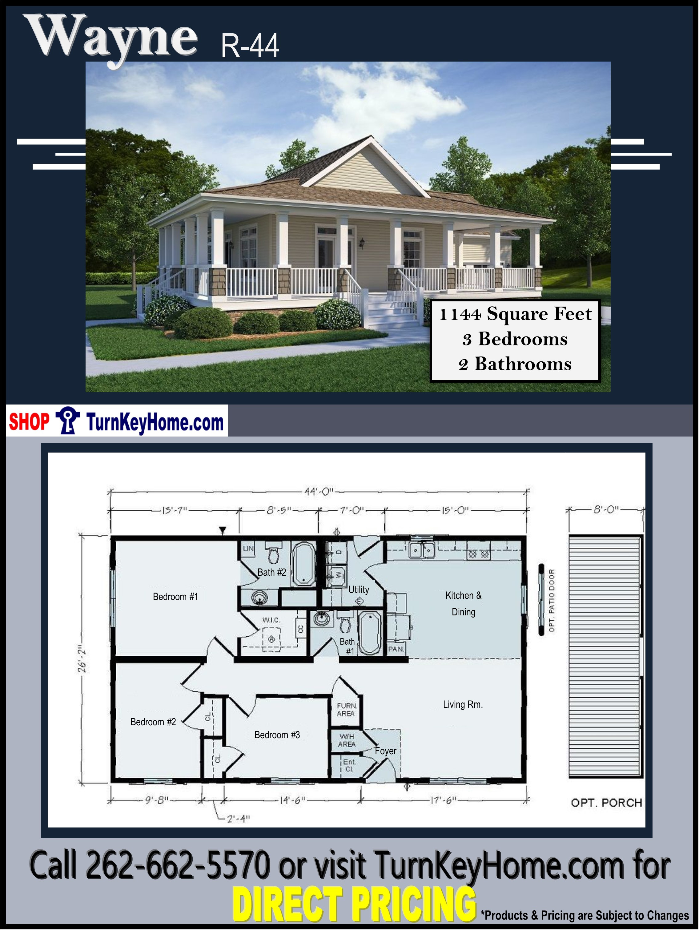 Wayne Homes House Plans Lovely Wayne Ranch Home 3 Bed 2 Bath Plan 1144 Sf Priced From