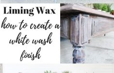 White Wash Antique Furniture Inspirational Lime Washed Coffee Table Makeover With Liming Wax