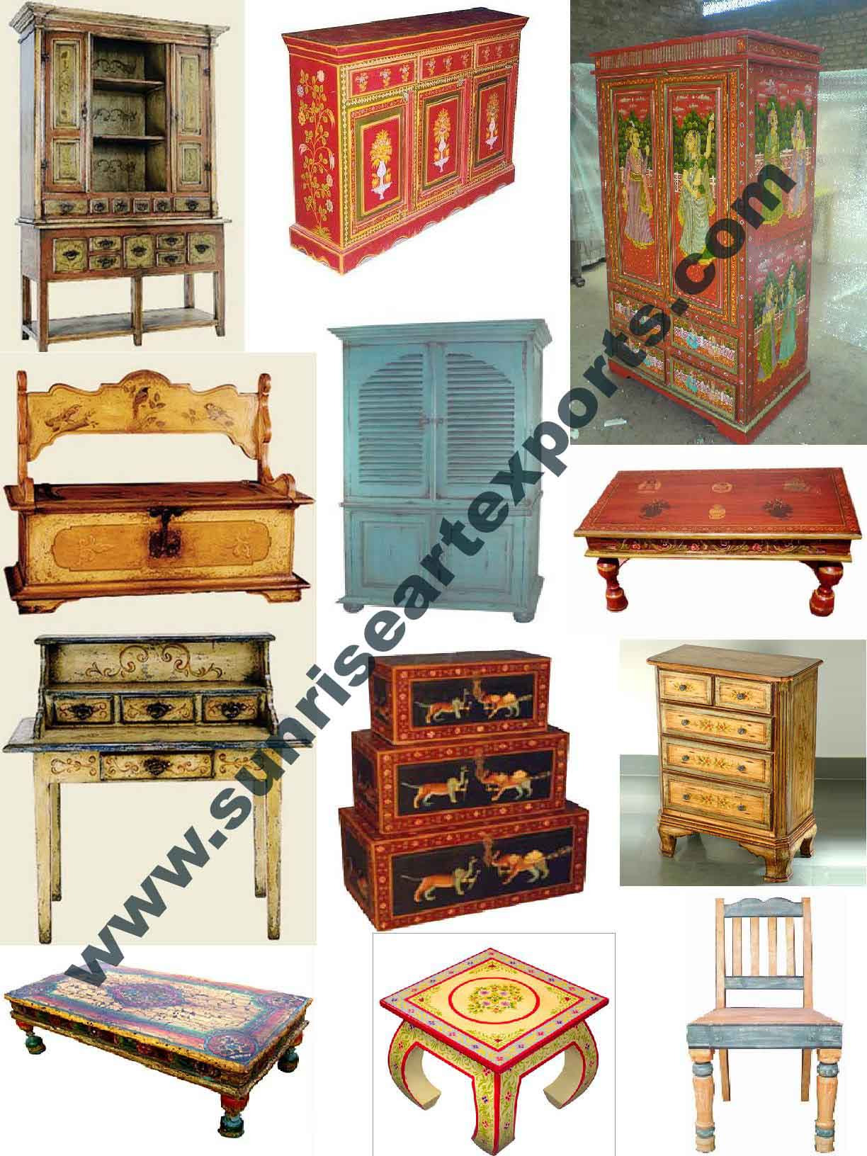 Who Buy Antique Furniture Beautiful Hand Painted Furniture Antique Reproduction Furniture Handmade Painting Indian Distress Furniture White Paint Furniture Buy Antique Reproduction