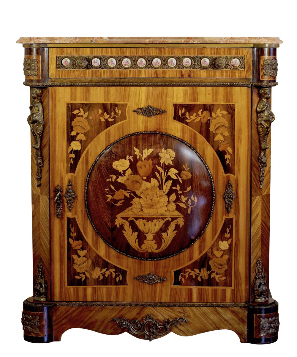 antique cabinet in the style of napoleon iii italy the 2nd half of the 20th century