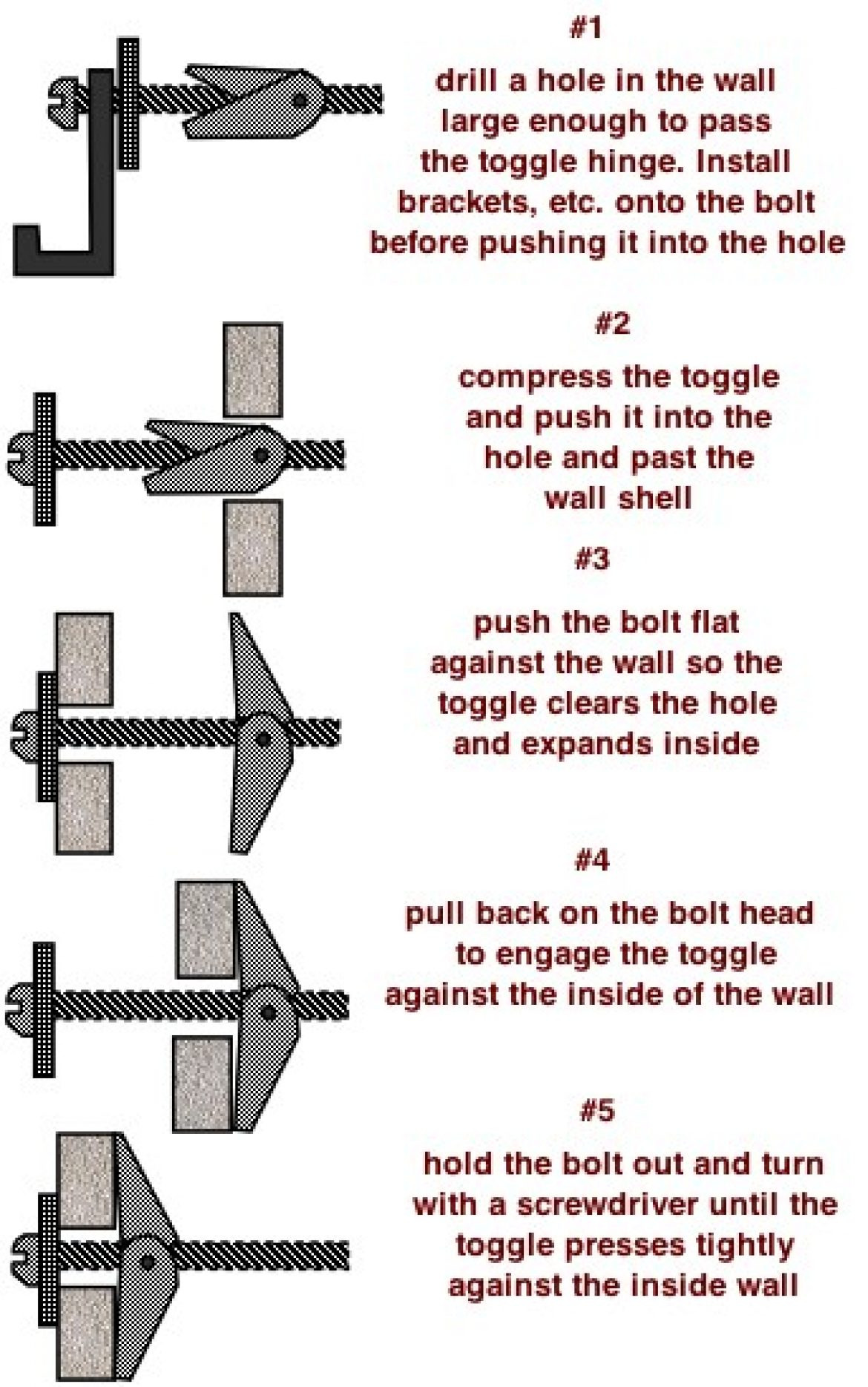 How To Install Drywall Anchor Wall Without Drill Butterfly