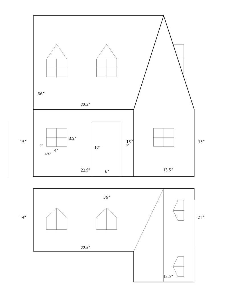 Wooden Doll House Plans Best Of Wood Doll House Pattern Plans Diy How to Make Resolute93bgx