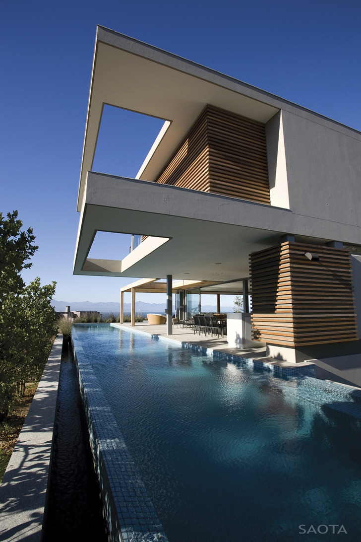 beautiful plett home by saota