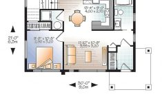 2 Bedroom Modern Home Plans Lovely Modern Style House Plan With 2 Bed 2 Bath In 2020