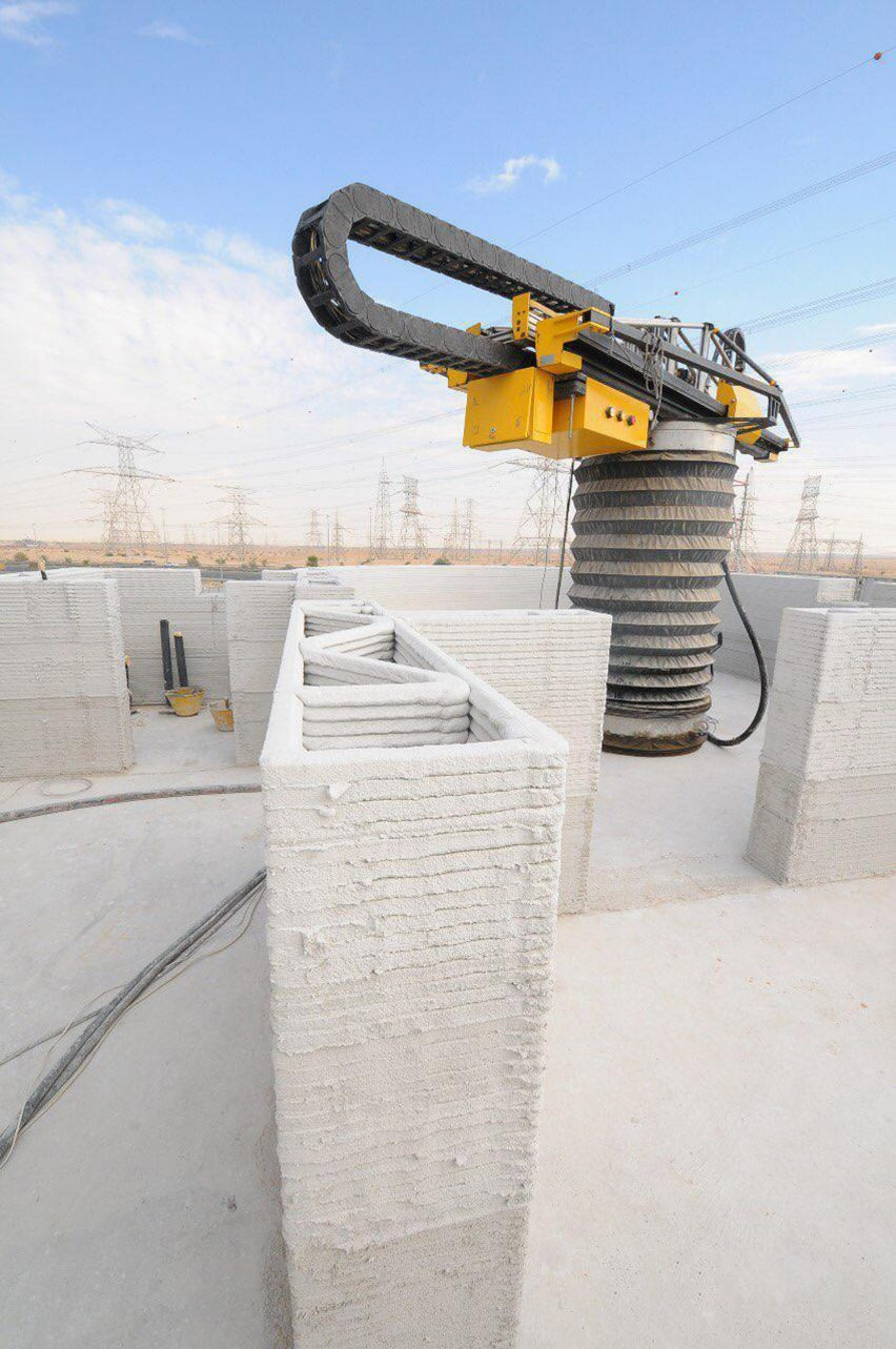 apis cor worlds largest 3d printed building dubai