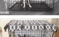 48x30x33 Dog Crate Awesome 528 Zone Modern Brown & White Designer Dog Pet Wire Kennel Crate Cage House Cover Small Medium Xl Xxl