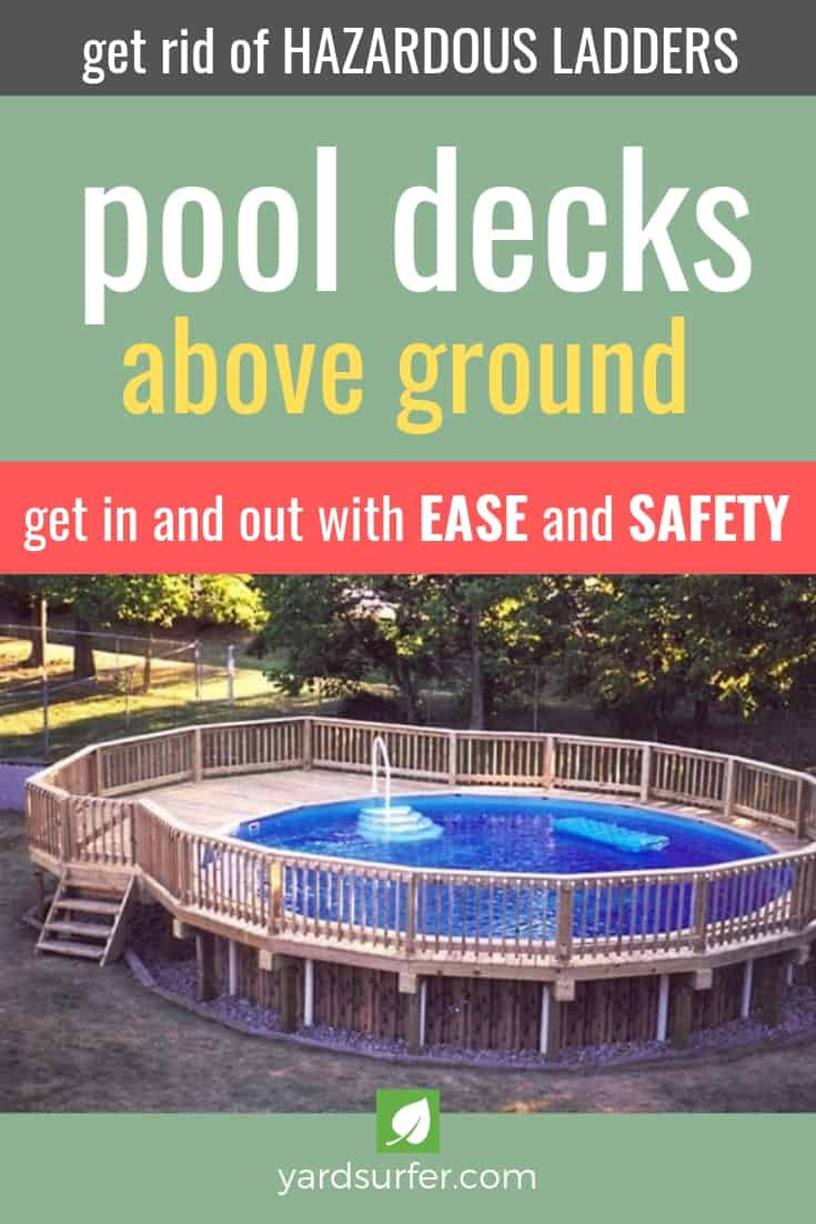 Ground Pool Decks