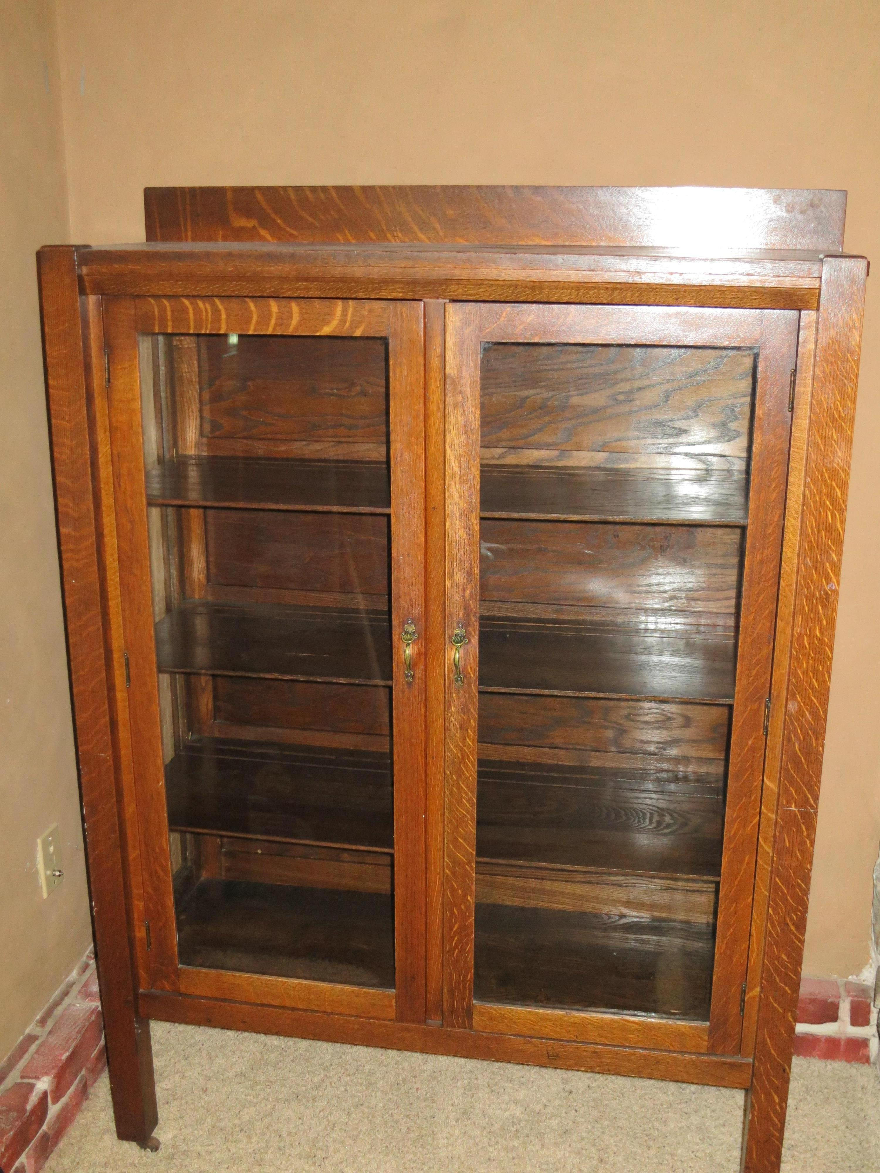 Antique Chinese Furniture Appraisal Luxury Mission Oak China Cabinet Antique Appraisal