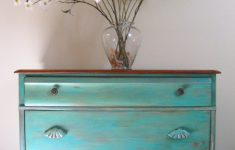 Antique Colors For Furniture Fresh Antique Dresser Painted Turquoise And Distressed Colors