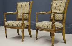 Antique French Furniture Uk New Pair Upholstered Antique French 19th Century Directoire