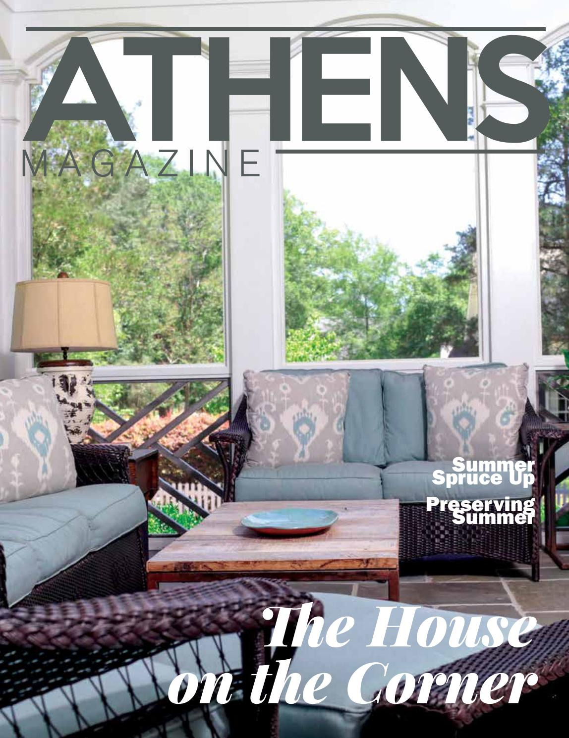 Antique Furniture athens Ga New athens Magazine Summer 2017 by Lineathens athens Banner